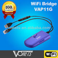 Wifi bridge VAP11G for Xbox for home and hotel wireless bridge