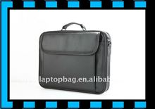 15.6 inch durable pu and nylon business laptop computer bag