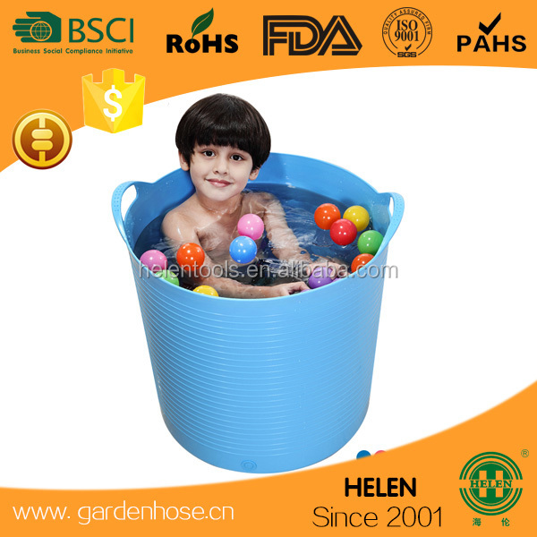 Multi Purpose Flexible Rubber Bucket various color Flexible Rubber Bucket
