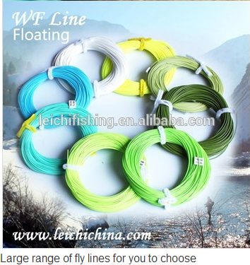 2014 new high quality weight forward fly fishing line