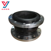 Pipe fitting single sphere rubber shock absorber flexible rubber high pressure joint