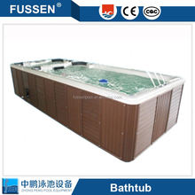 Hot Sale Acrylic outdoorspa hot tub /freestanding swim spa used