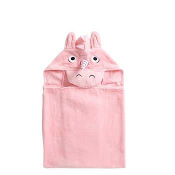 Hot sale high quality kids poncho bamboo hooded baby towel