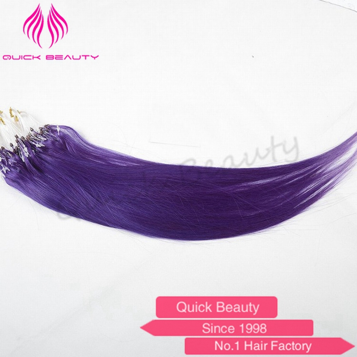 new fashion cash on delivery unprocessed virgin cheap never tangle shedding micro ring hair