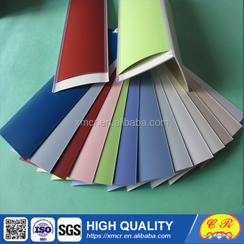 """L"" shape Groover for PVC Vertical Blinds"