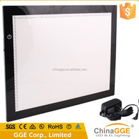 Electronic adjustable tattoo tracing LED drawing A3 size backlight keyboards led slim light box