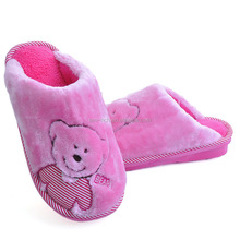 Indoor animal shaped slippers/slippers kids winter shoes
