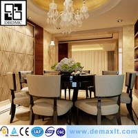 Deep Embossed wall and ceiling widely usage Bamboo best grade wall paper