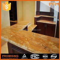 double bullnose polishing solid surface g664 kitchen countertop