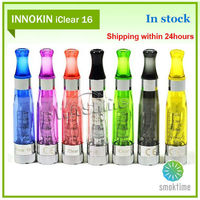 2014 Original innokin iClear 16 atomiser dual coil refillable 510 cartomizer