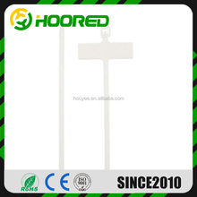 Write On White Labels - Wire Power Tags Marks Cord Wire Strap Marker Nylon Cable Ties