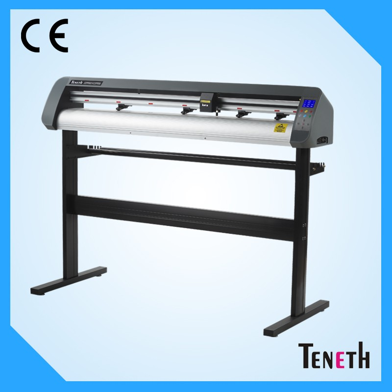 "High Cutting Pressure/High Mechanical Resolution Teneth 48"" Contour Cutting Vinyl Cutter Plotter With Servo Motor"