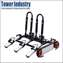 Hitch Mount Steel Rear Bike Rack 3 Bike Rack Carrier
