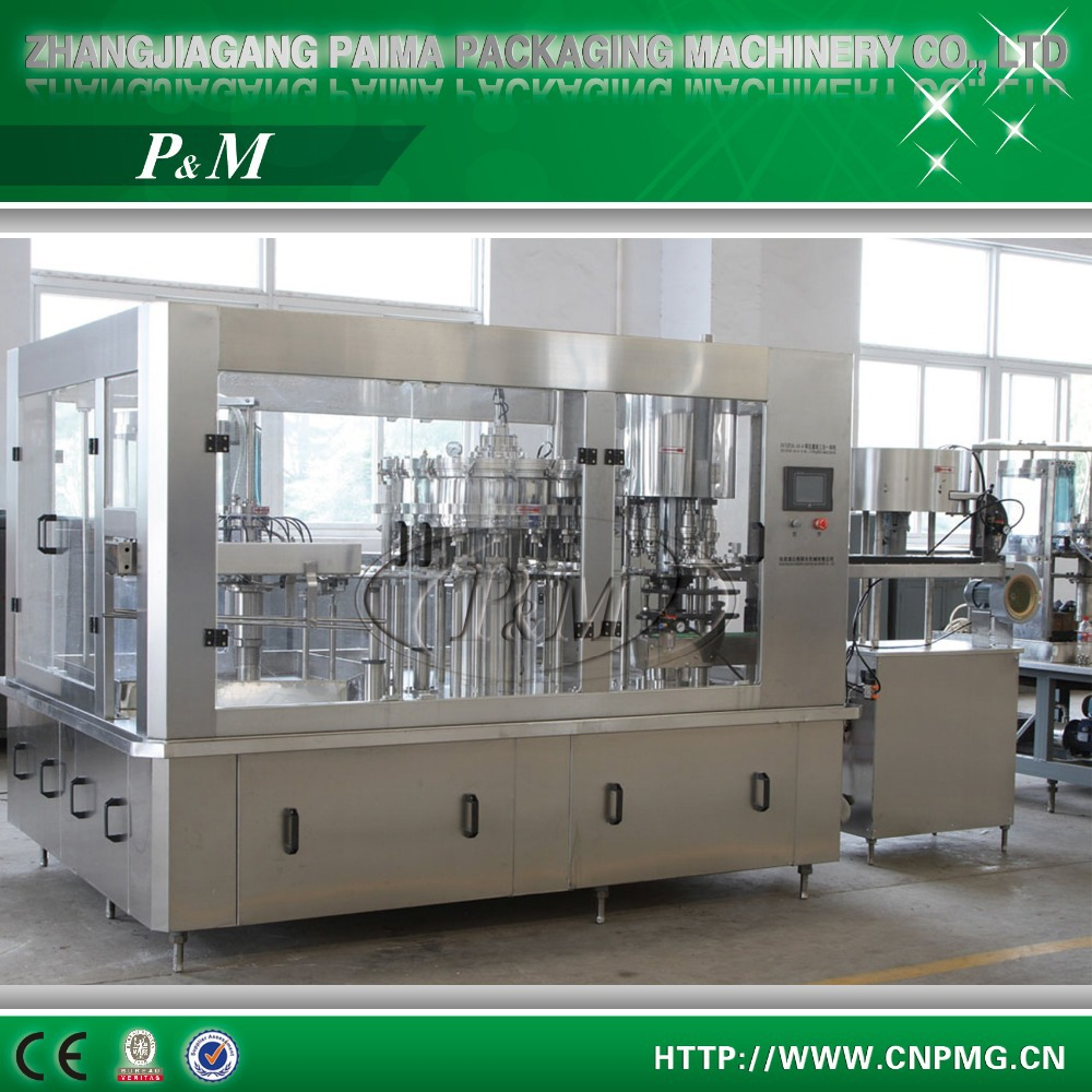 Automatic bottle filling capping and labeling machine/water bottle filling machine