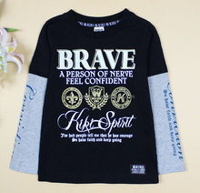 new children's clothing Japanese cotton long sleeve <strong>T-shirt</strong> printing <strong>boy's</strong> frocks designs <strong>t-shirt</strong> <strong>boy's</strong> kids t shirt design