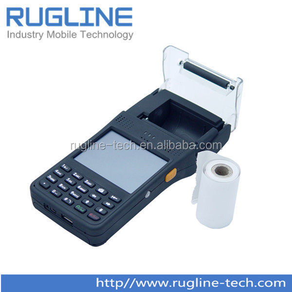 Handheld windows gps gprs rfid reader pocket pda with Barcode Scanner(RT350)
