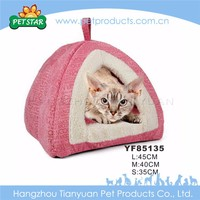 New soft plush small folding dog house for sale