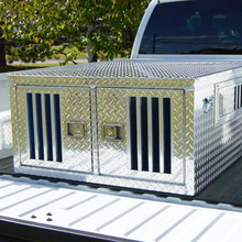 Aluminum Prfessional Steel Two Dog Kennel Manufacturers