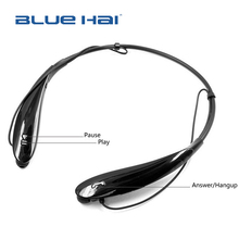 Cheap MP3 Earphone Loud Speaker Bluetooth Earphone Sport Built in Rechargeable Li-battery