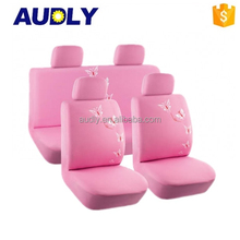 L/C Accepted Hot Sale Pink Car Seat Covers Car Accessories for Women