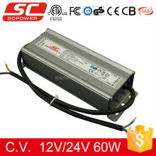 60W 24V C.V. triac dimmale LED power supply