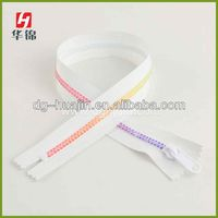 Hot sale 10 nylon long chain zipper