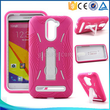 Hybrid Combo Robot Case Cover for blu energy x plus e030u with Kickstand case