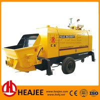 diesel engine stationary concrete pump for sale HEAJEE HBT80-16-176RS
