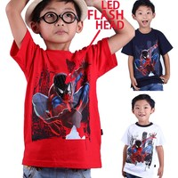 fashion boys Summer t shirt Soft and High Quality Comfortable Kids Clothes