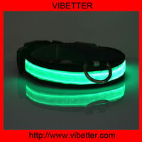 Electronic cat collar led collar for dog dog sex/flashing led cat and dog collar