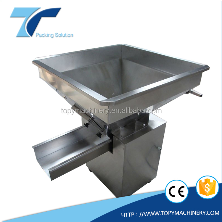 food grade electromagnetic vibrating/vibratory hopper feeder machine for packing line