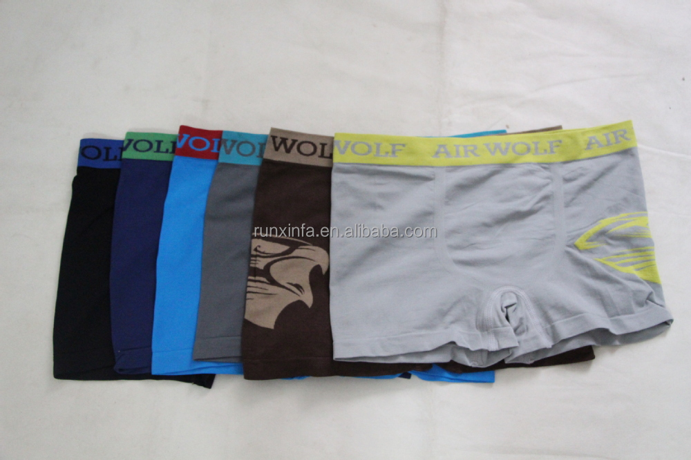Design briefings mature classic mens boxers men seamless underwear