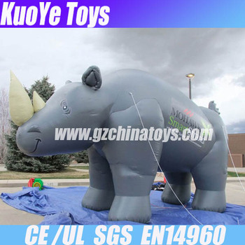 inflatable animal,outdoor inflatable toys,giant inflatable Rhinoceros
