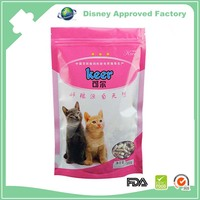 Foil Laminated moisture proof cat pet food packaging bag