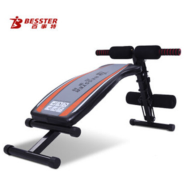 BST JS-005F exercise curved ab multi gym home sit up bench