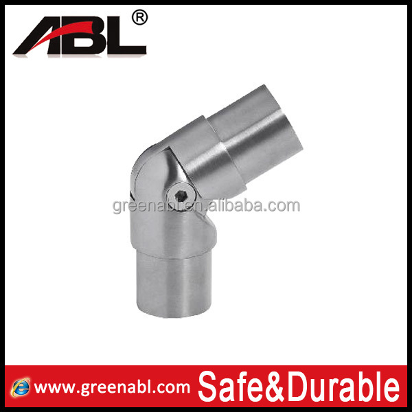 Stainless steel CC68 handrail tube connector