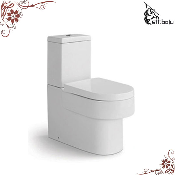 Ceramic two piece chaozhou porcelain toilet factory