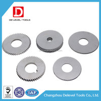 Delevel Tungsten Carbide Saw Blade End Mill / Saw Mill