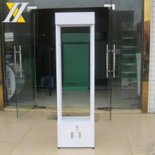 HYX-A019A green cosmetic rack, tempered glass cosmetic display rack, cosmetic cabinet