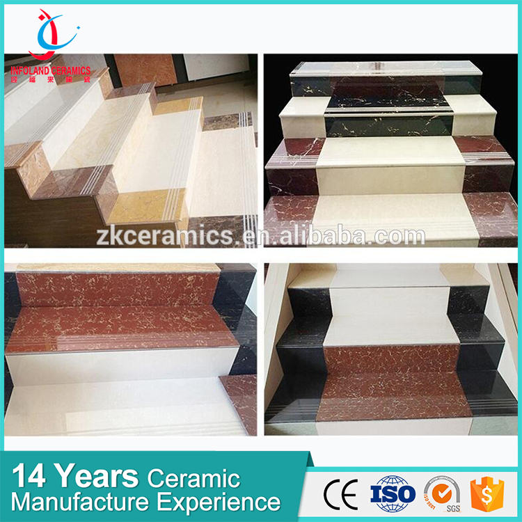 Best Price Hot Selling Products Exterior Stairs Tile Step Nosing Tiles For Staircase