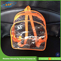 Clear Pvc Promotion Backpack Gift Bag With Zipper