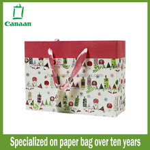 Top grade export paper gift bag butterfly