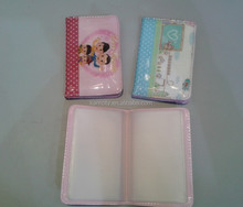 Full Color Printing PVC ATM Card Cover with Sewing Craft