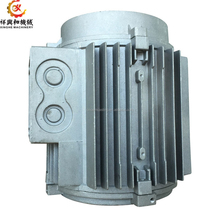 OEM aluminum die casting metal machinery parts motor house manufacturing