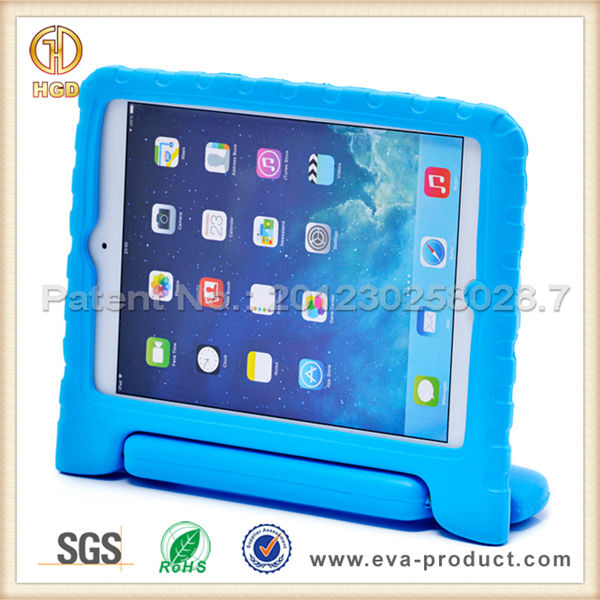 Rotating stand EVA case for tablet PC case for ipadmini 3 2 1 , kids case with stand for ipad mini
