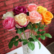 made in the usa silk flowers cheap wholesale artificial flowers simulate rose flower