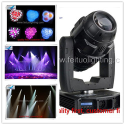 Expensive robe pointe brightness 3-facet prism 100w led moving head spot light