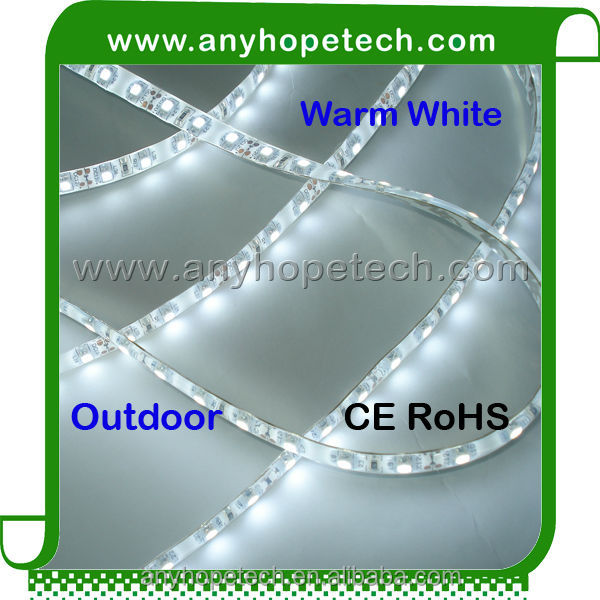 Super bright ! CE RoHS 24vdc SMD3528 thin flexible waterproof led strip