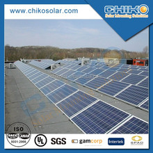 Flat roof ballast folding solar panel kit