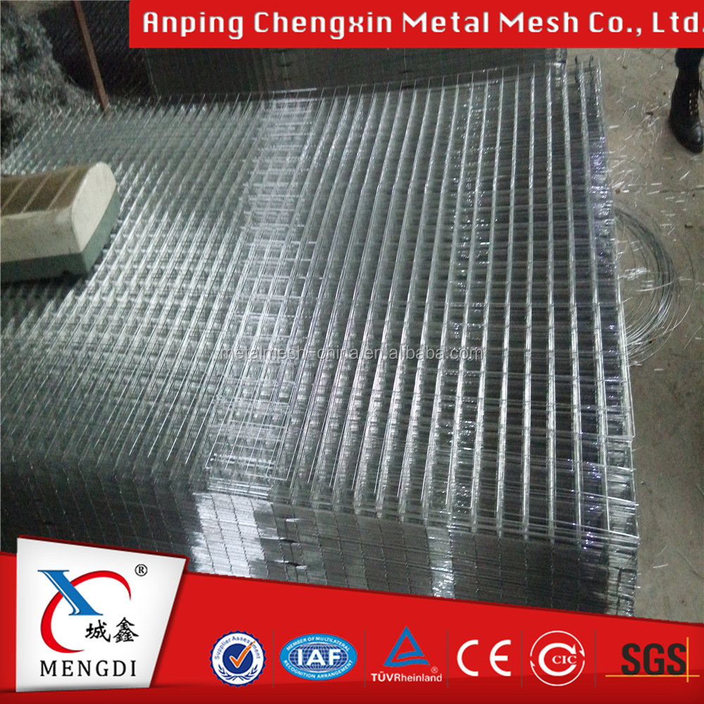 Black welded mesh price 10x10 / welded wire panels